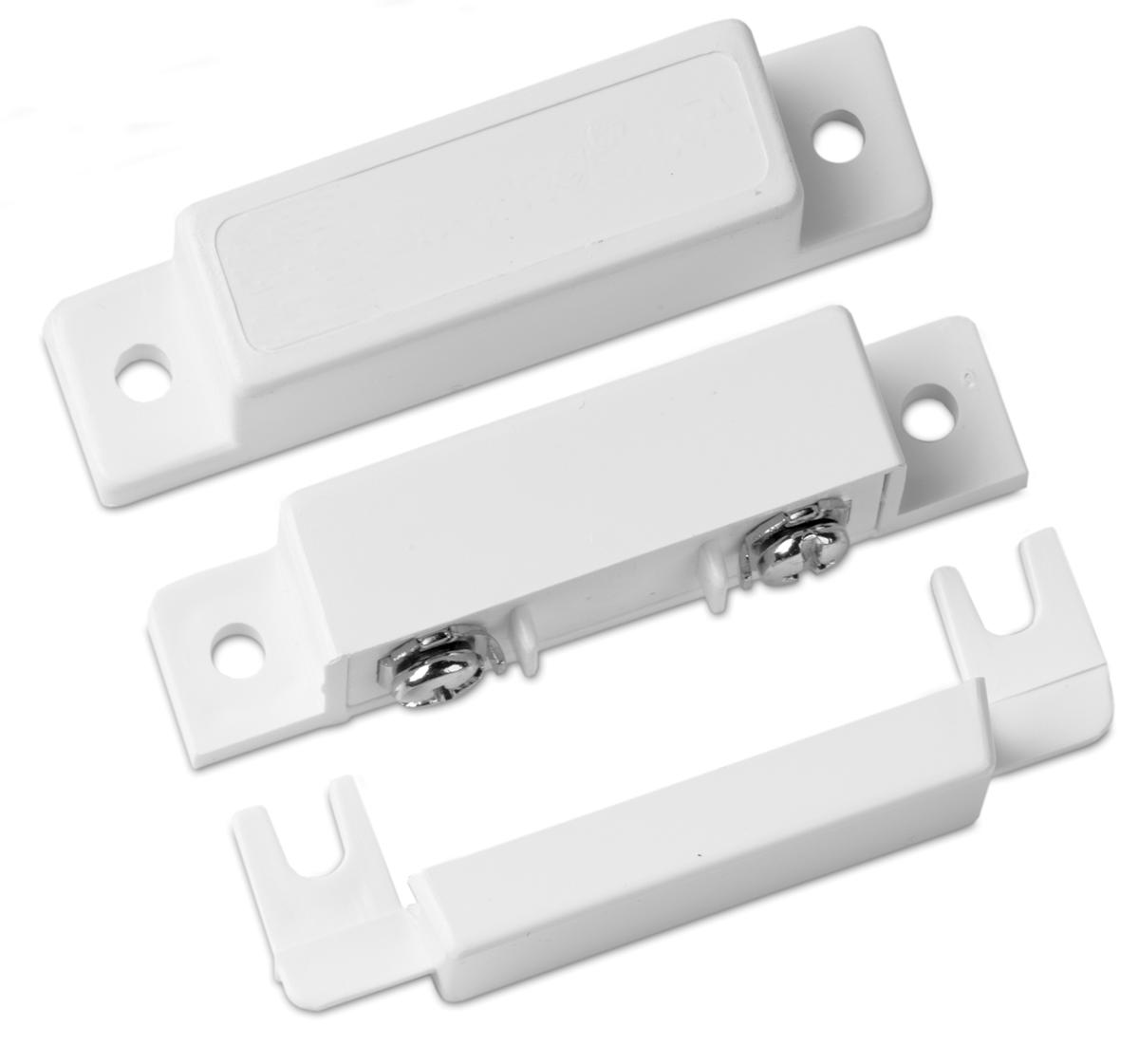 Sentrol 1085TN Surface Mount Contact w Terminals  sc 1 st  AlarmSuperStore.com & Sentrol 3008 White Shorty Roller Plunger Contact w/ Wire Leads ...