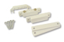 Amseco AMS-39CVS Surface Mount Contacts White 5 Pack