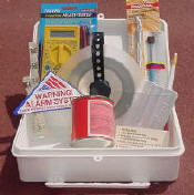 Complete Alarm Security Foil Kit