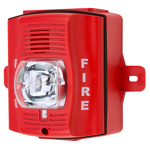 System Sensor P2rhk Red Two Wire Outdoor Horn Strobe